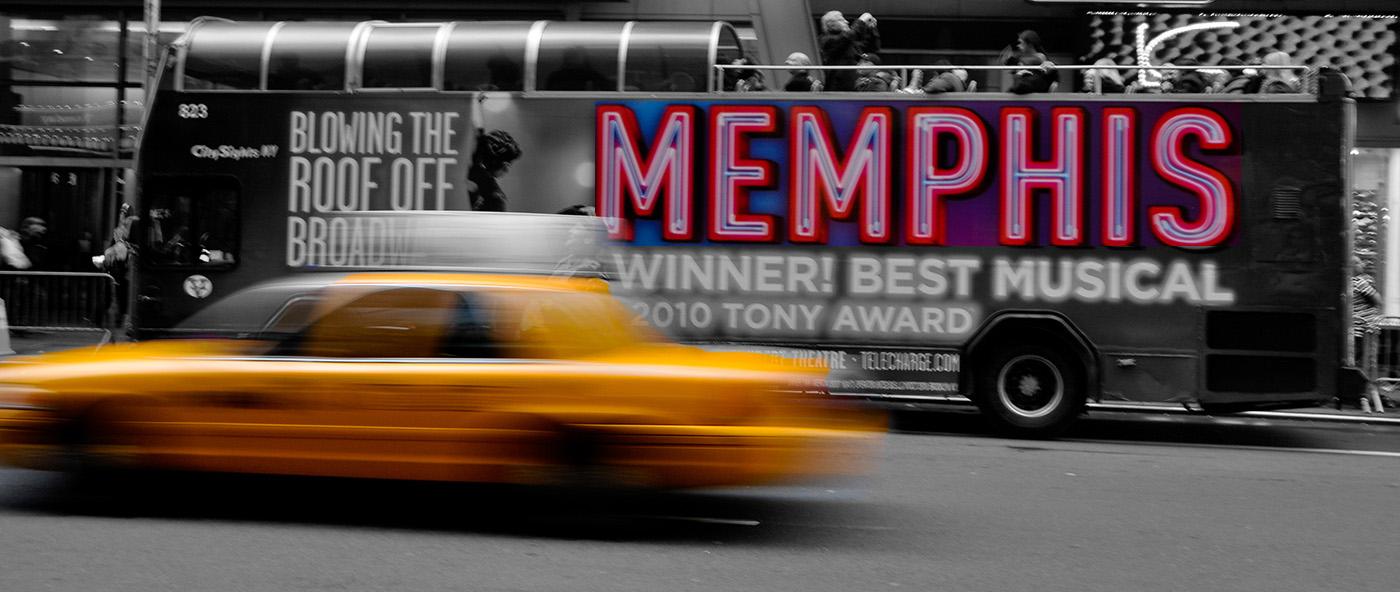 Memphis Taxi Cab DownTown