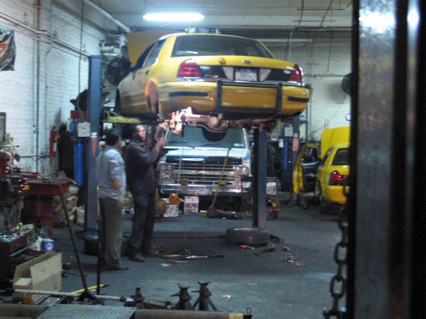 Taxi Repair Shop